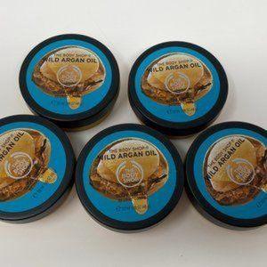 5 pk Wild Argan Oil Body Butter-The Body Shop
